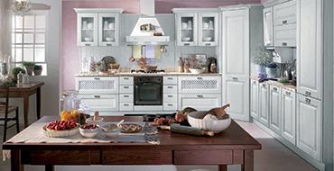 kuadra cucine composizione ANDROMEDA azzurra 370x190